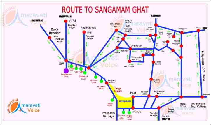 route-map-to-sangamam-ghat-08092016