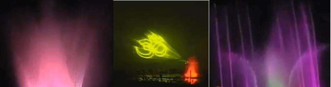 Laser Show at bhavani island