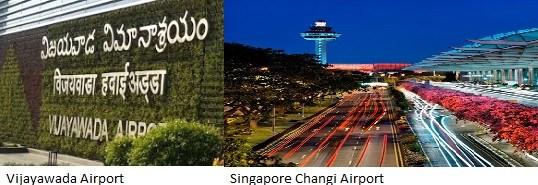 Vijayawada Singapore direct flight